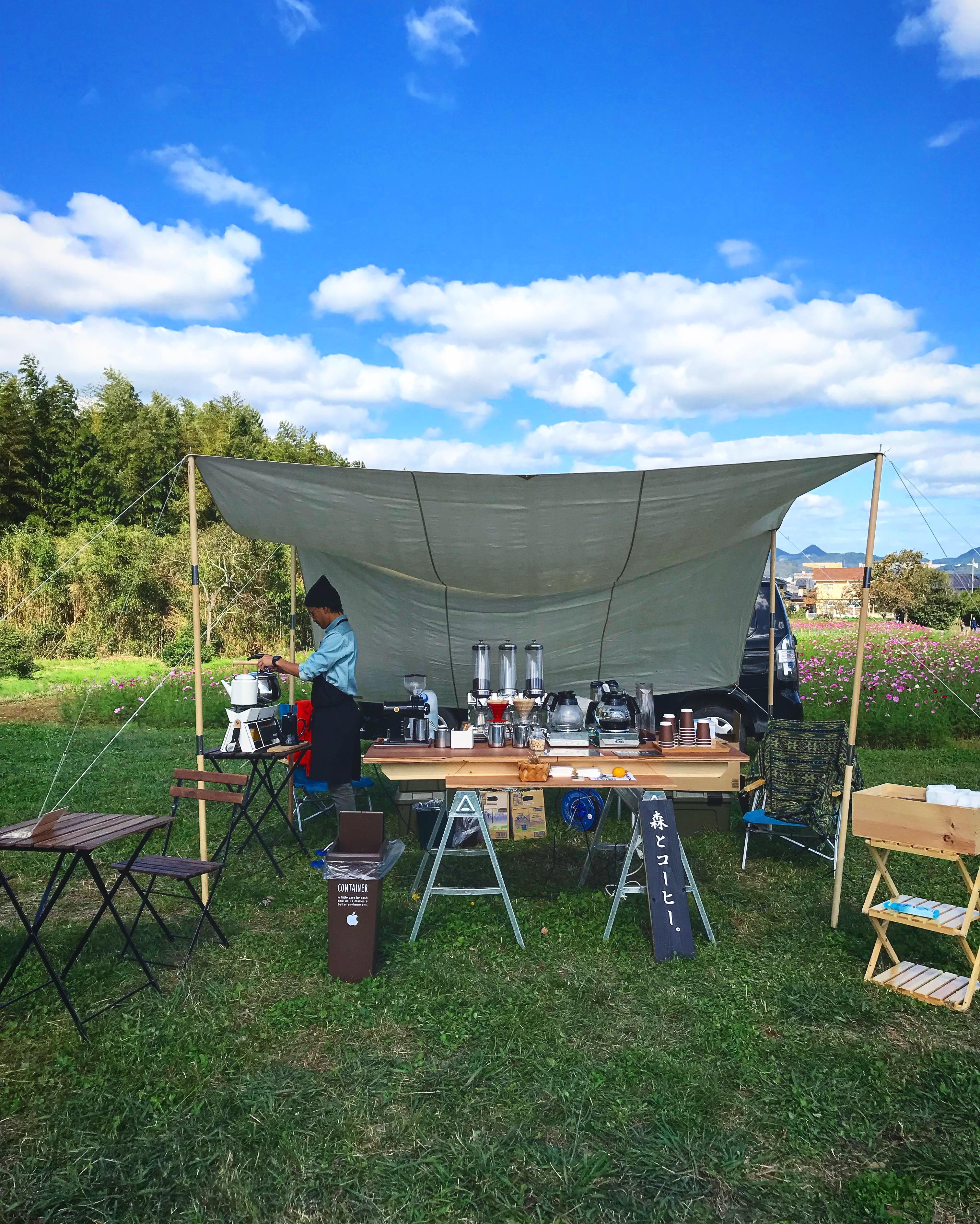 コーヒー出張事例<地域のお祭り>